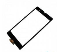 Тачскрін (сенсор) для Sony C6602 L36h Xperia Z / C6603 L36i / C6606 L36a, чорний, оригінал (Китай)